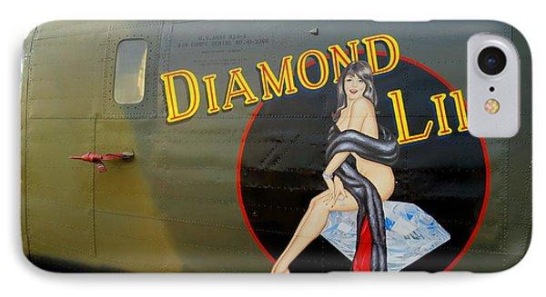 Diamond Lil B-24 Bomber IPhone Case