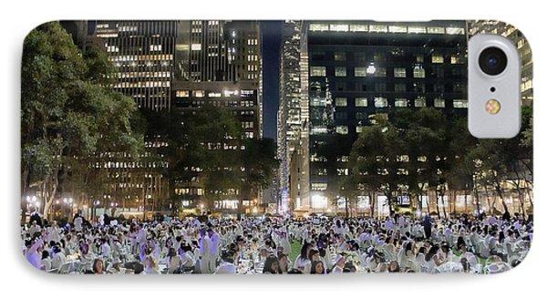 Diner En Blanc New York 2013 IPhone Case