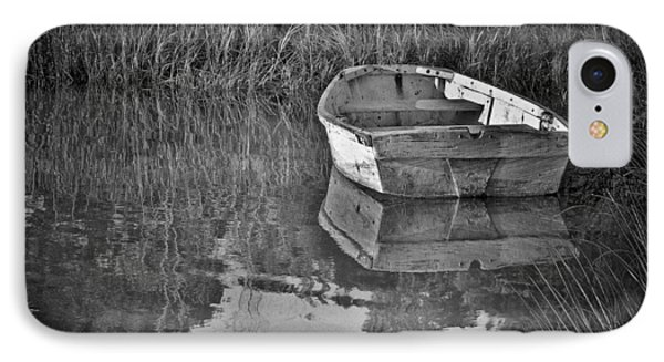 Dinghy In The Marsh IPhone Case