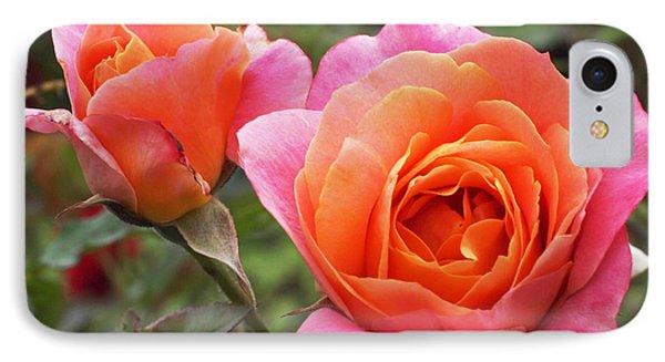 Disneyland Roses IPhone Case