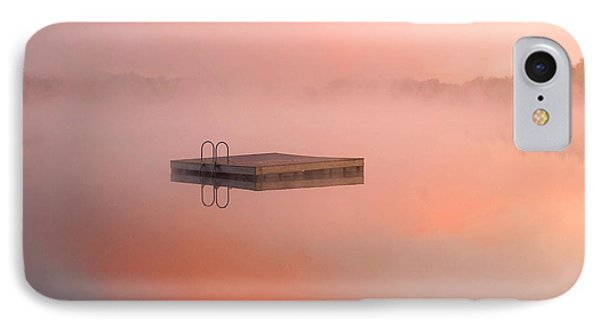 Distant Dock At Sunrise IPhone Case