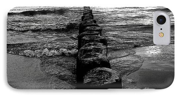 Distant Seagull Baltic Beach IPhone Case