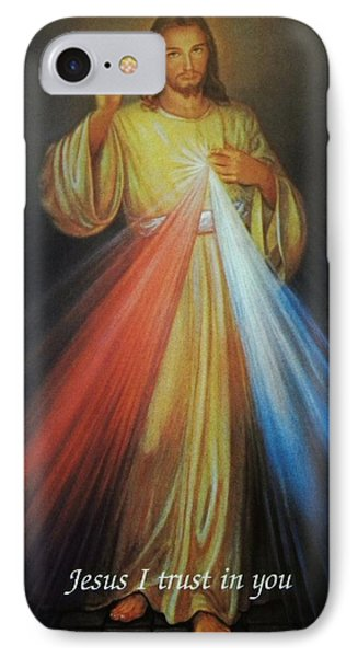 Divine Mercy Jesus IPhone Case