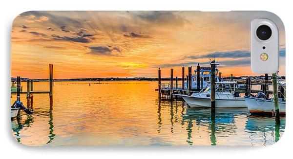 Dockside Sunset IPhone Case