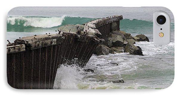 Dockweiler State Beach IPhone Case