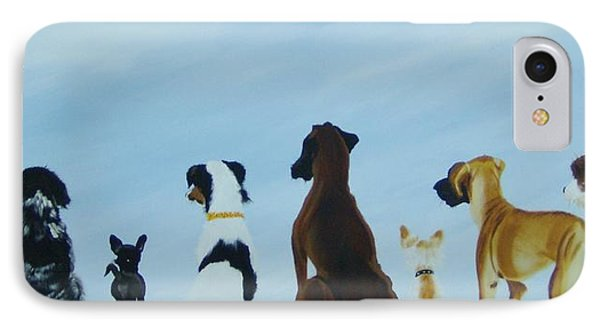 Dogs Looking For Our Forever Home IPhone Case
