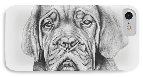 Dogue De Bordeaux Dog IPhone Case