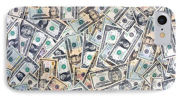 Dollar Background IPhone Case