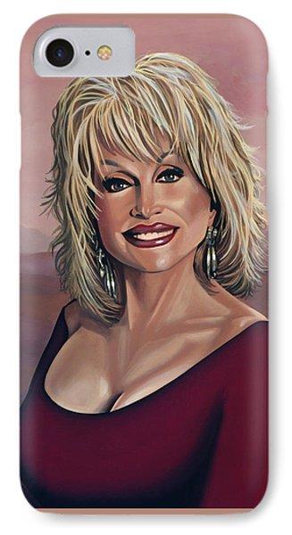 Dolly Parton 2 IPhone Case