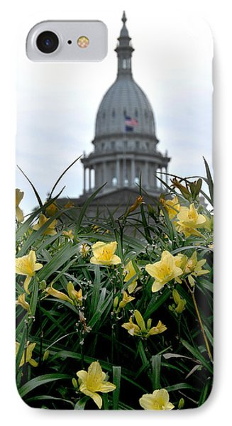 Dome Through The Daffodils IPhone Case