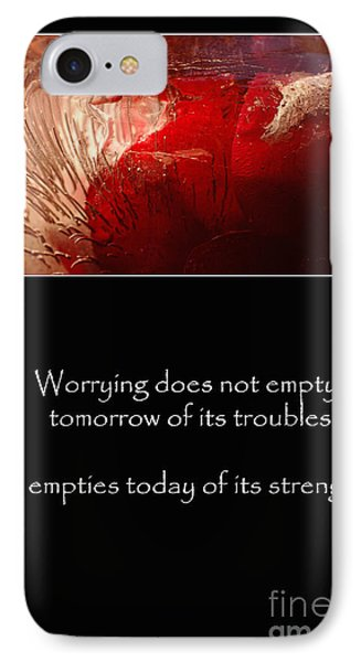 Don't Worry IPhone Case