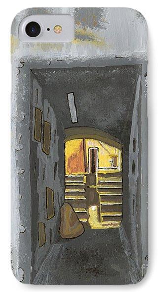Doorway In Cinque Terra IPhone Case