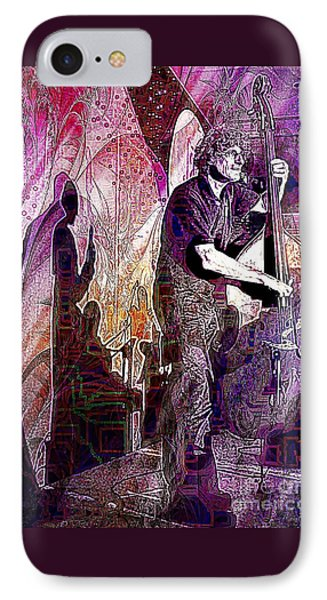 Double Bass Silhouette  IPhone Case