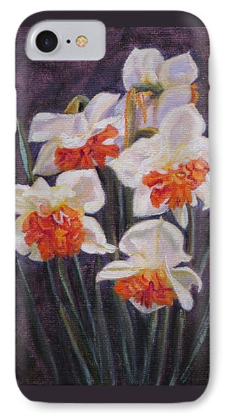 Double Daffodil Replete IPhone Case
