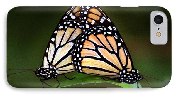 Double Monarch IPhone Case