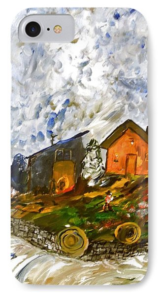 Down On The Farm IPhone Case