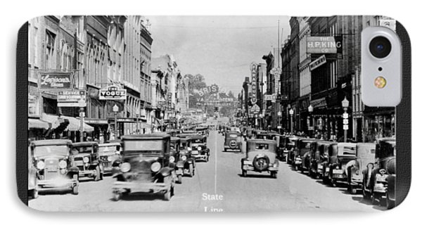 Downtown Bristol Va Tn 1931 IPhone Case