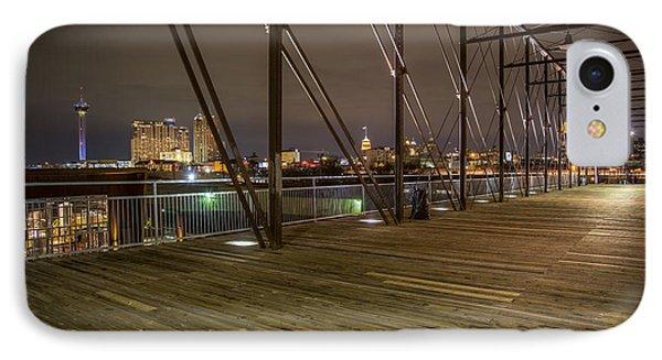 Downtown San Antonio From The Hays Street Bridge IPhone Case