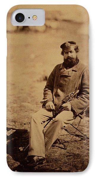 Dr. Marlow, 28th Regiment, Crimean War, 1853-1856 IPhone Case