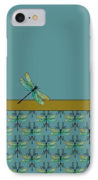 Dragon Fly Nouveau IPhone Case