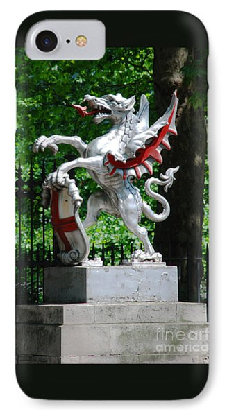 Dragon With St George Shield IPhone Case