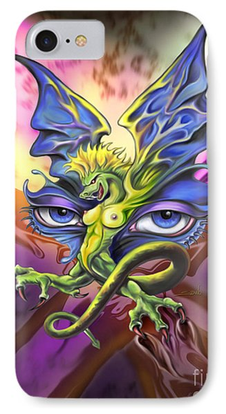 Dragons Eyes By Spano IPhone Case