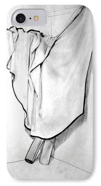 Draped Blanket IPhone Case