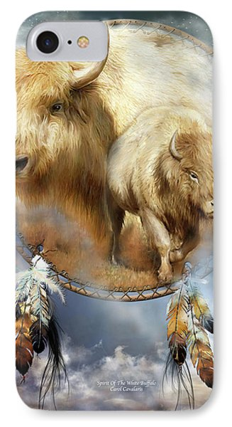 Dream Catcher - Spirit Of The White Buffalo IPhone Case