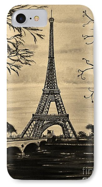 Dreaming Of Paris 2 IPhone Case