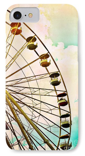 Dreaming Of Summer - Ferris Wheel IPhone Case