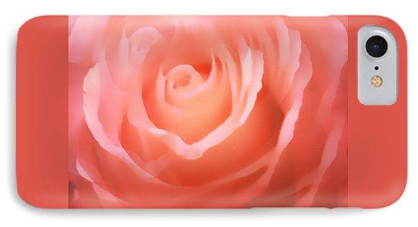 Dreamy Pink Rose IPhone Case
