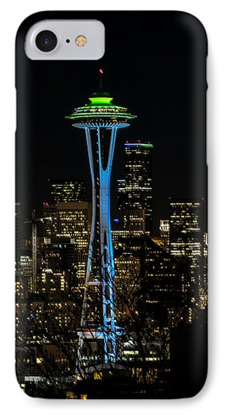 Dressed For The Super Bowl IPhone Case