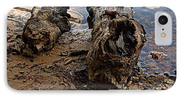 Driftwood By The Lake IPhone Case