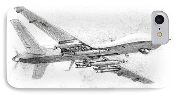 Drone Mq-9 Reaper IPhone Case