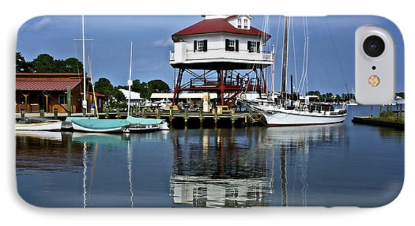 Drum Point Light House IPhone Case