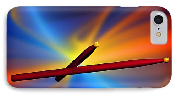 Drum Sticks Photograph For Combo Jazz  Color 3233.02 IPhone Case