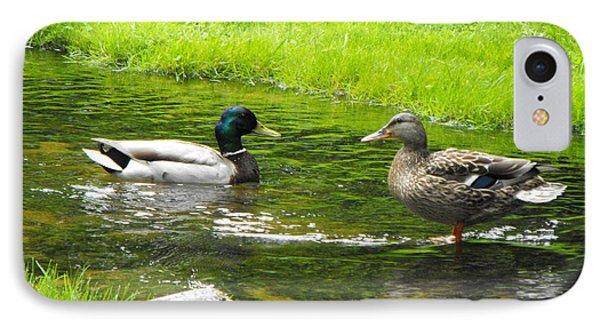 Duck Couple IPhone Case