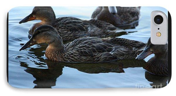 Ducks Reflecting IPhone Case