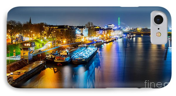 Duisburg Rhine East Bank Dammst IPhone Case