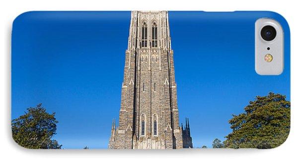 Duke Chapel IPhone Case