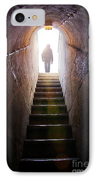 Dungeon iPhone 8 Case - Dungeon Exit by Carlos Caetano