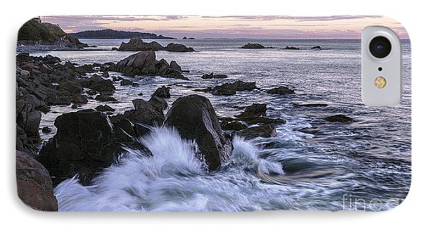 Dusk At West Quoddy Head Light IPhone Case