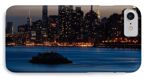 Dusky Nyc Skyline IPhone Case
