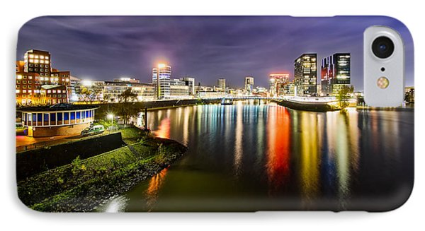Dusseldorf Media Harbor Skyline IPhone Case