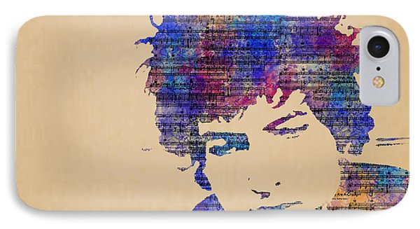 Dylan Watercolor IPhone Case