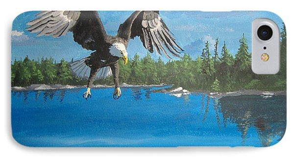 Eagle Attack IPhone Case