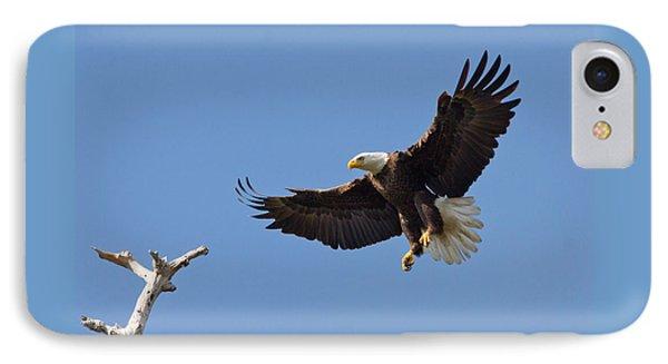 Eagle Landing 2 IPhone Case