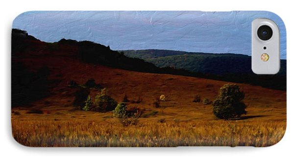 Early Autumn Field IPhone Case