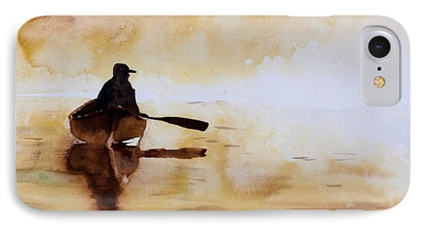 Early Morning Canoe IPhone Case