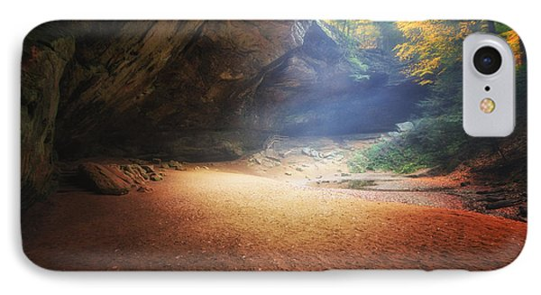 Early Pre-dawn Mist At Ash Cave IPhone Case